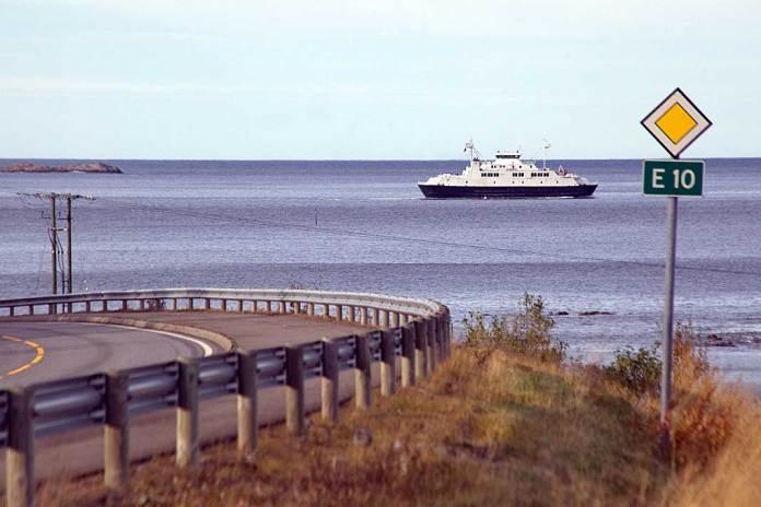 ferge tysfjord E10