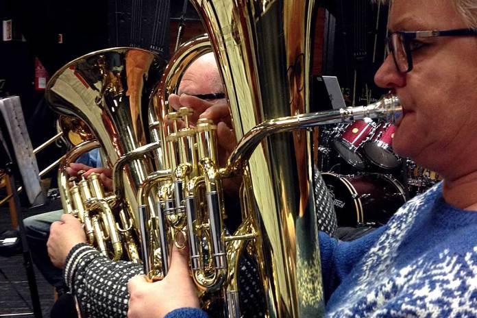 melbu musikkforening baryton rekke musikk horn