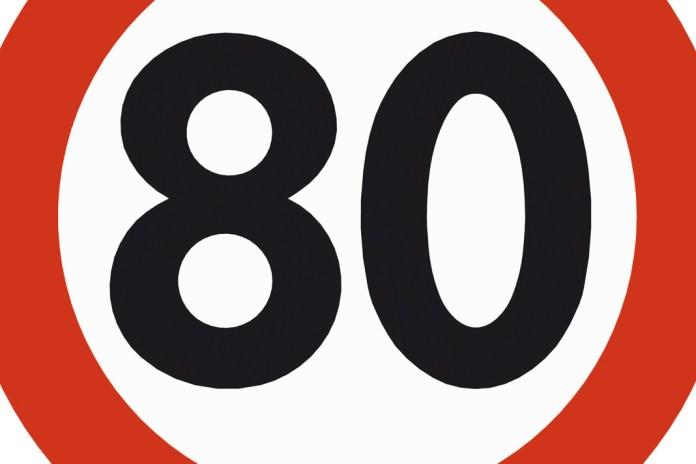 statens vegvesen skilt forbudsskilt 80 fartsskilt