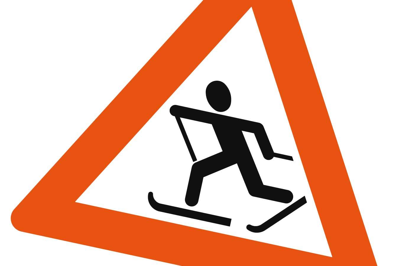 skigåer fareskilt ski skitur ulvøyrennet