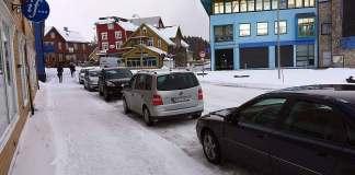 skilt parkering sortland