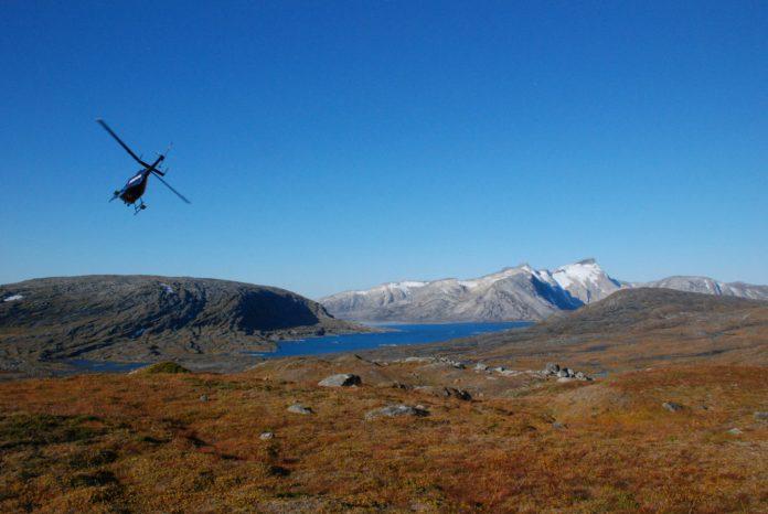 grafitt mineral ngu helikopter
