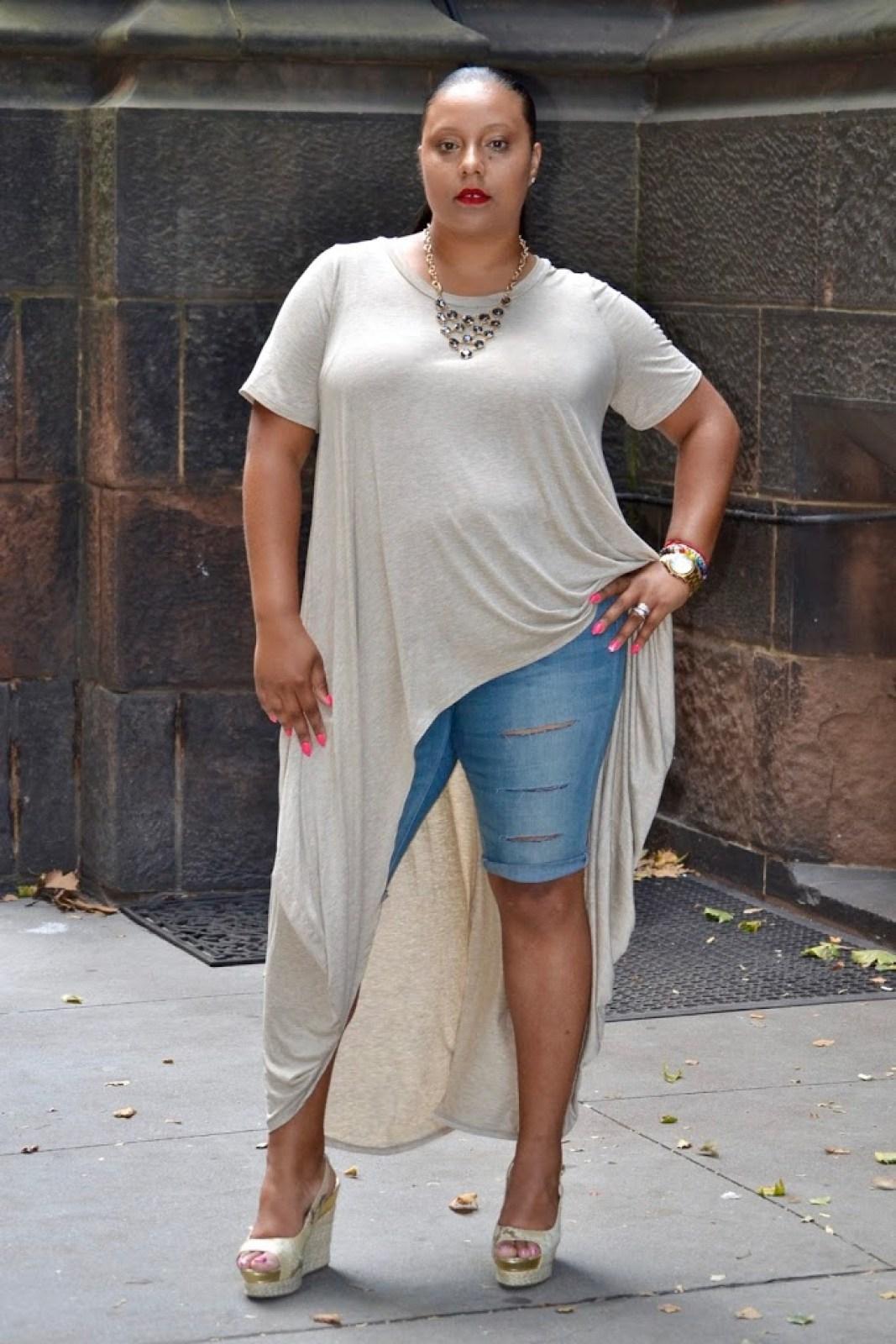 SUMMER STYLE SHIRT DRESS + JEANS