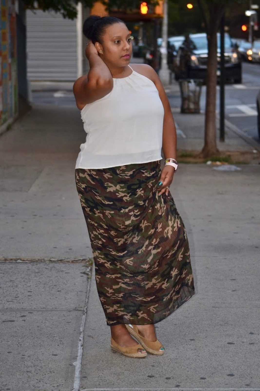 THE PERFECT CAMO SKIRT
