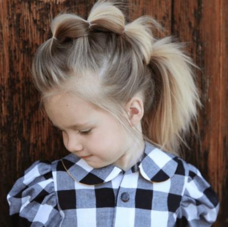 Leuke kapsels voor meisjes; een stoere kuif