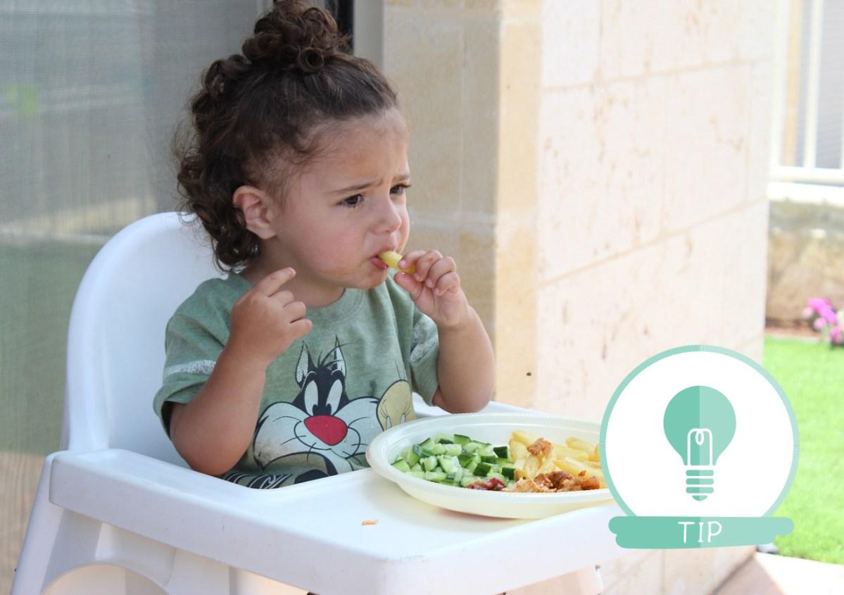 eten kind alles lekker