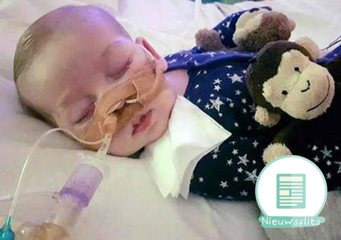 Baby Charlie ziek ziekenhuis