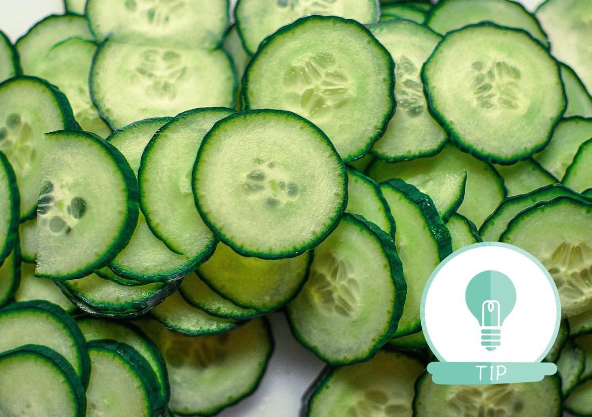 salade komkommer groente eten tips
