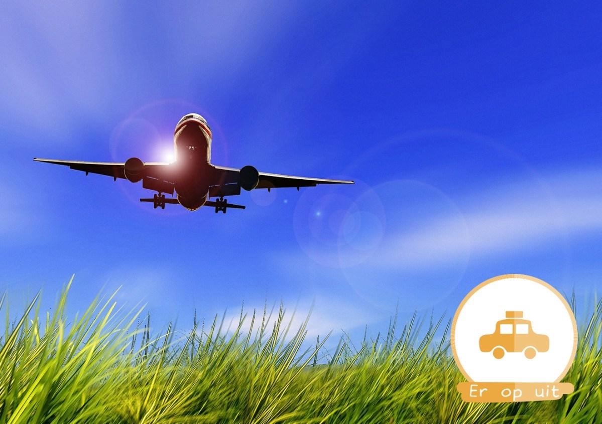 vliegvakantie vakantie vliegtuig