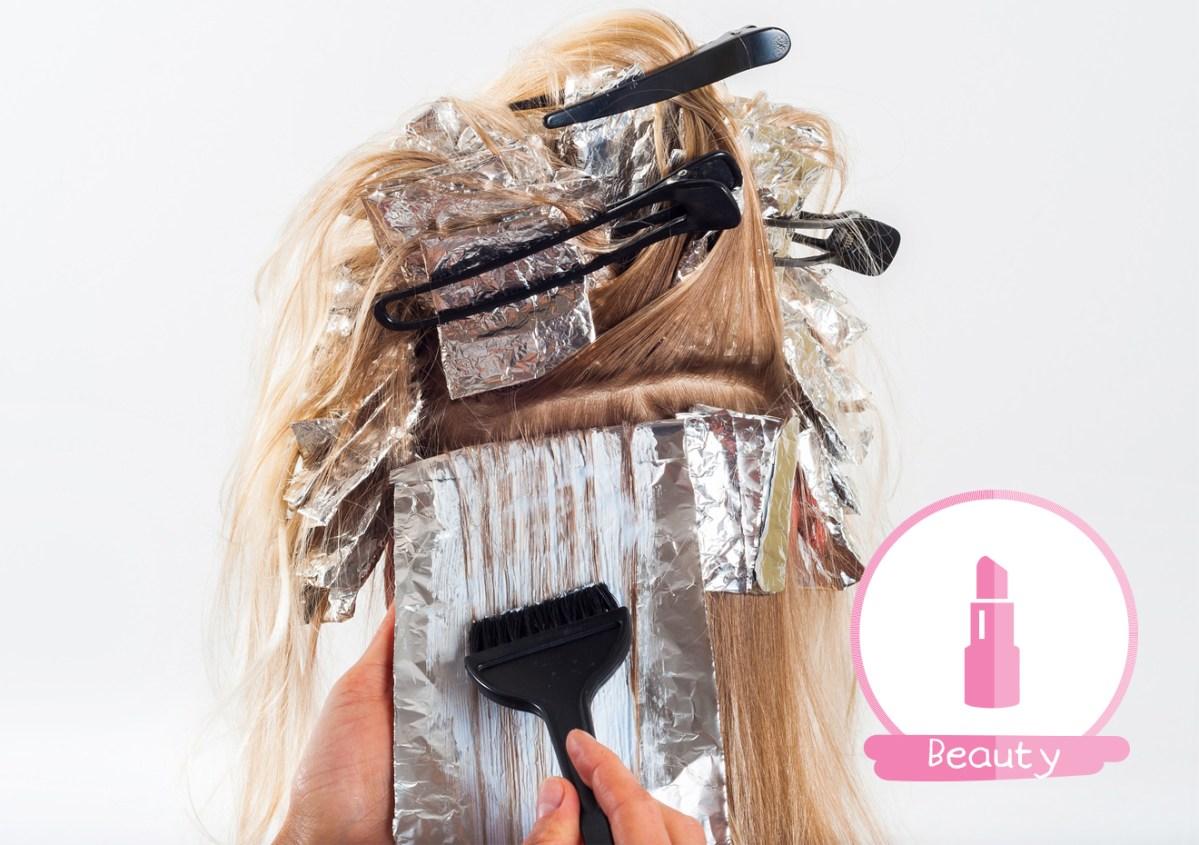 haarverven roze kapsel haar verf