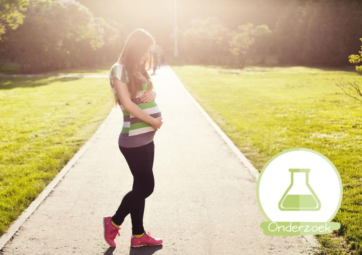 zwangere vrouw beweging gezond eten