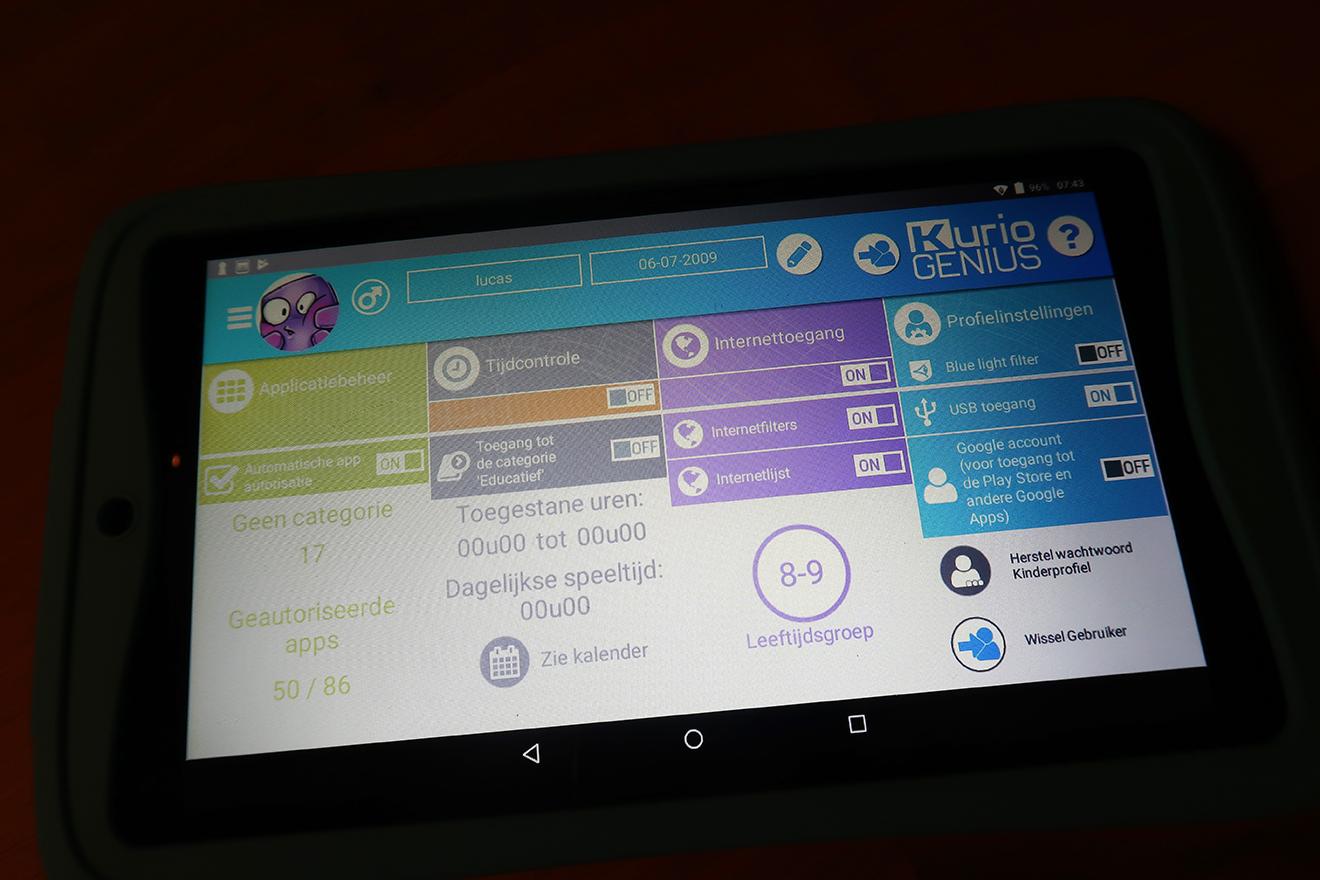 Wel Of Geen Tablet.Aanrader Voor Ouders En Kids Kidsproof Tablet Kurio Tab