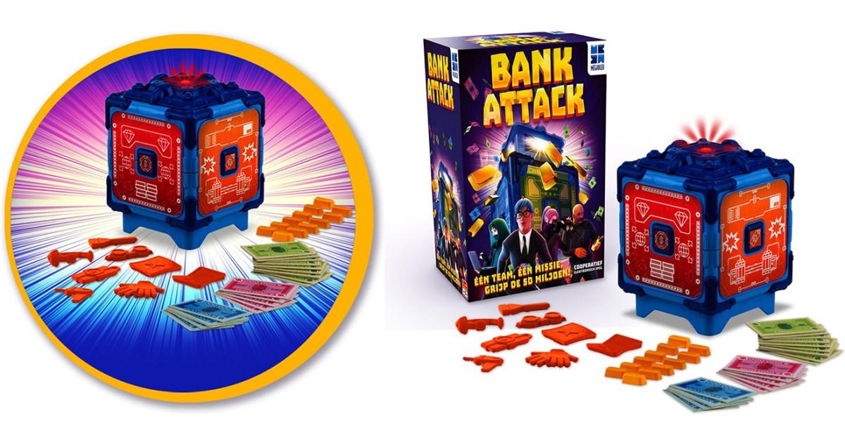 Review gezelschapsspel Bank Attack