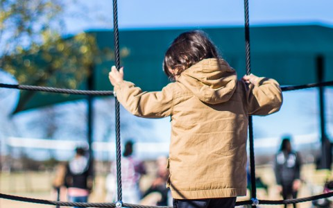 Zoon met taal ontwikkelingsvertraging