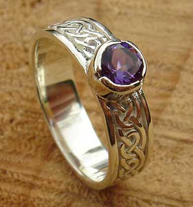 Scottish Celtic Engagement Ring  LOVE2HAVE in the UK