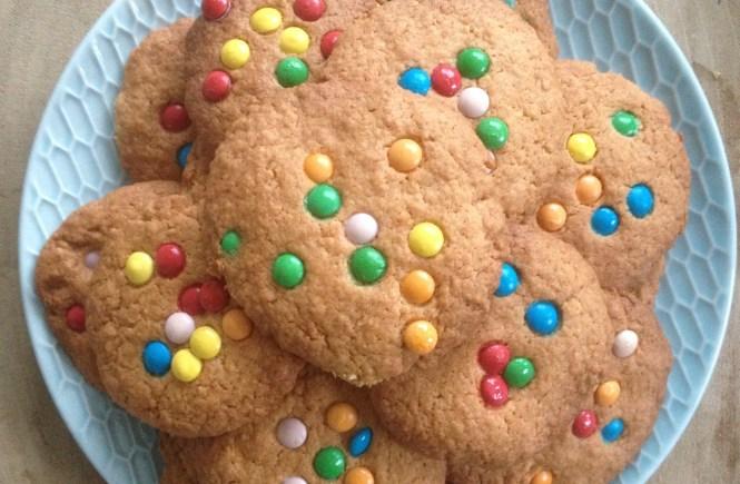 love2try.nl Rainbow koekjes.