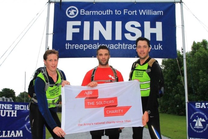 Sail the Peaks Team reach the finish line