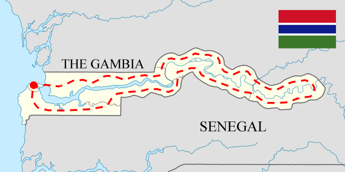 Circumnavigating The Gambia