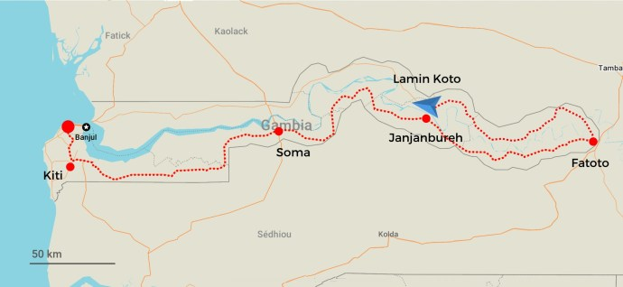 Day 4 - Around The Gambia