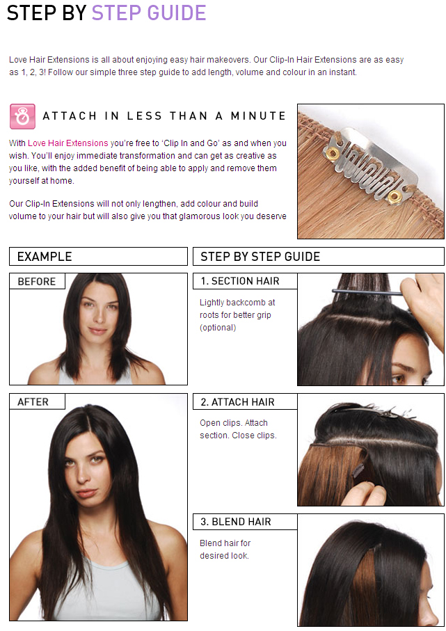 How To Use Your Clip In Extensions Love Afro Cosmetics