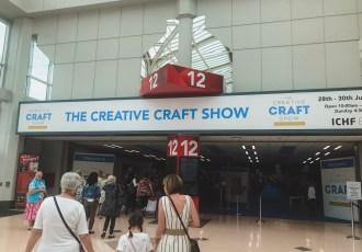 Entrance to Creative Craft Show at Birmingham NEC