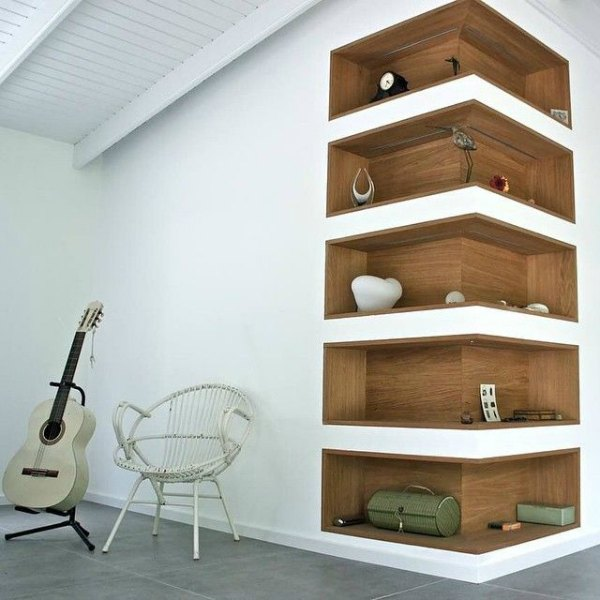 Short And Long Bookshelf