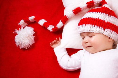 45 baby christmas picture