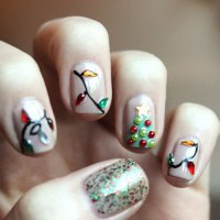 51 Festive Christmas Nail Art Ideas: Holiday Nail Designs