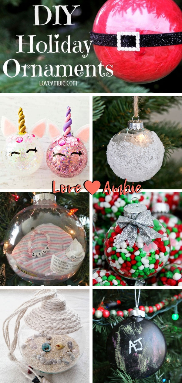 Christmas Ball Ornaments Craft