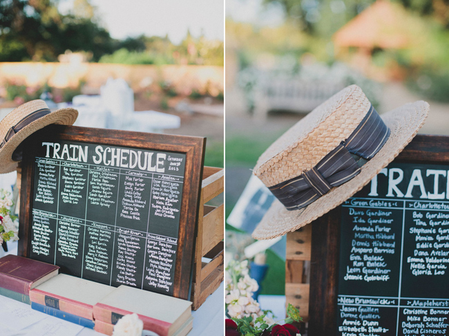 Anne of Green Gables Themed Wedding