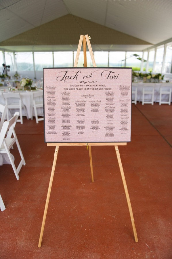 Lime Green Wedding with Lots of Chalkboards