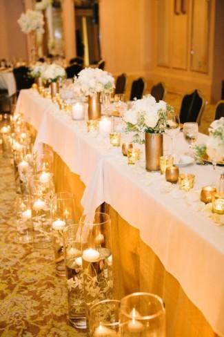 Arctic Club Hotel Wedding with Black Bridesmaids Dresses