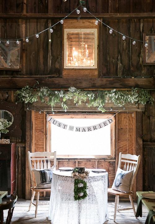 Barn Wedding  Chandelier Love  Groomsmen Wearing Funky