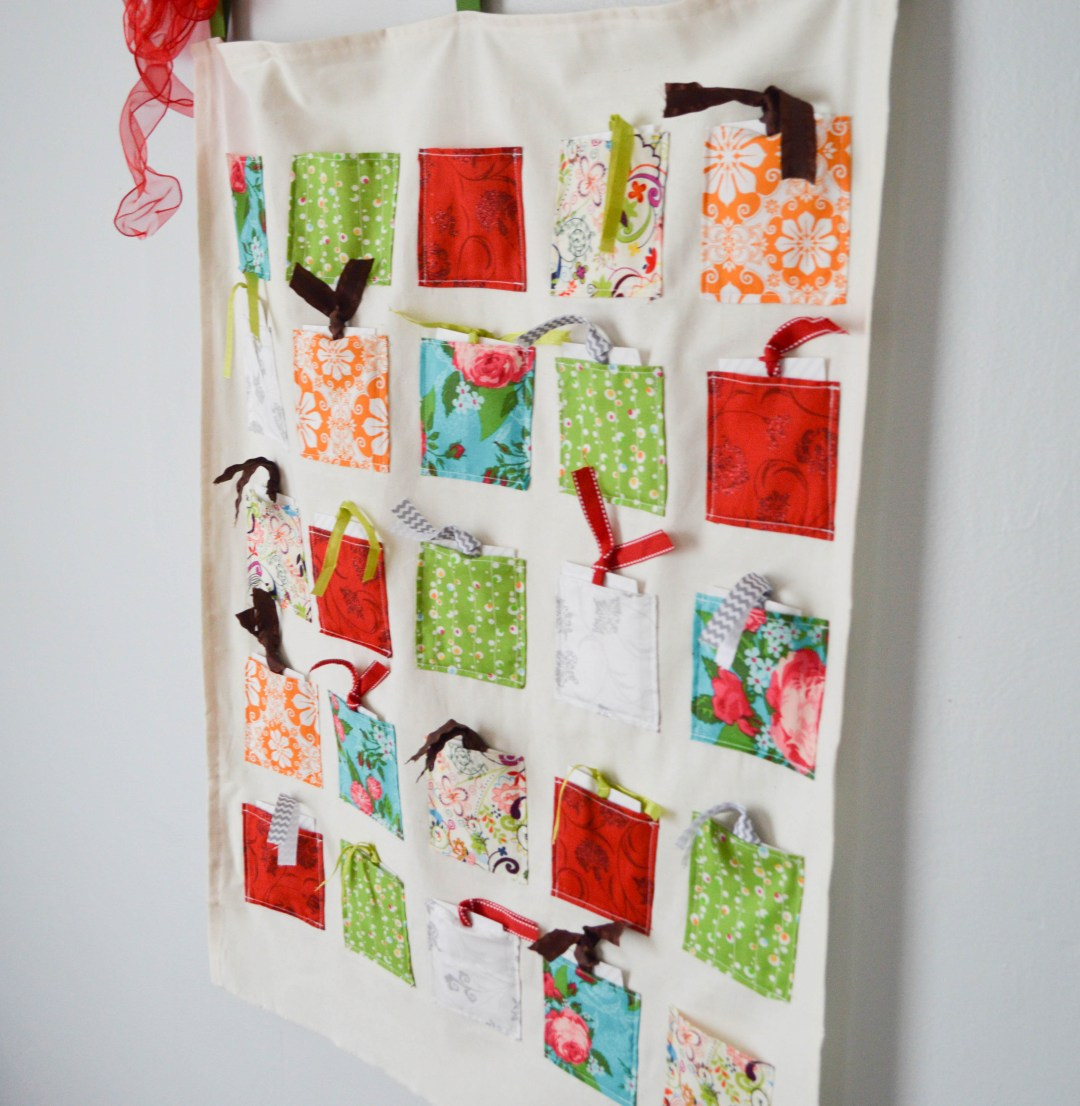 DIY Advent Calendar | www.loveandmessiness.com