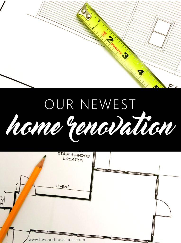 Home Renovation | www.loveandmessiness.com