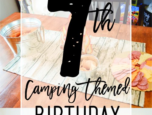 Chase's 7th Camping Themed Birthday | www.loveandmessiness.com
