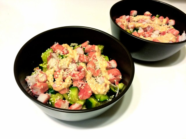 california bowl sushi bowl recipe rice bowl california roll inspired