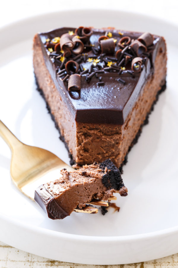 Triple Chocolate Cheesecake Recipe Dishmaps
