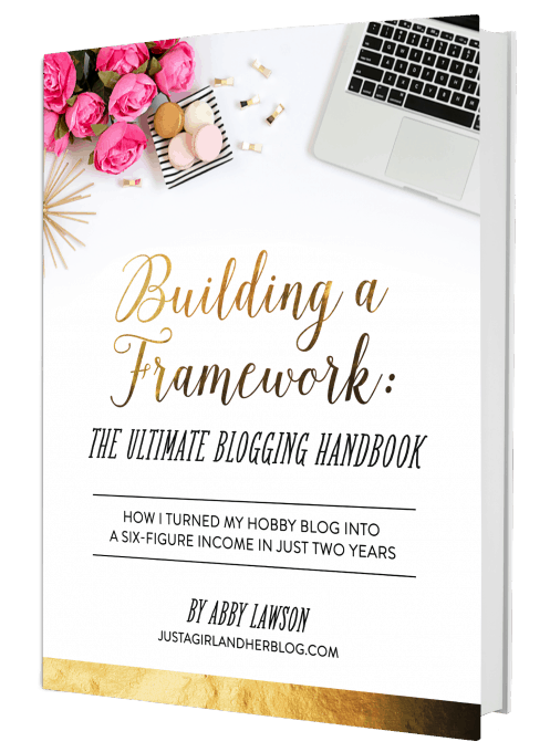 Building A Framework- The Ultimate Blogging Handbook