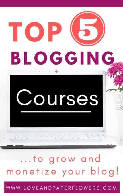 Investing in the best blogging courses is a crucial aspect of growing a success and profitable blog. Here is a list of best blogging courses in 5 different blogging categories. #blogging #bloggingcourses
