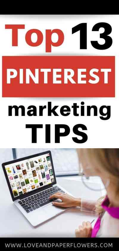 13 of the Best Pinterest Tips for Bloggers