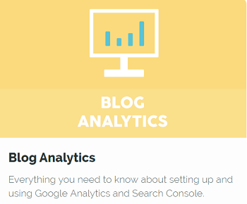 Blog Analitics SEO Course for Bloggers