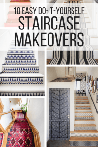 Staircase Makeover Ideas (How to Make Your Staircase ...