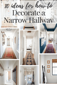 Narrow Hallway Decorating Ideas // Love & Renovations