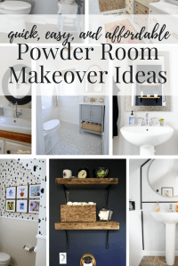 8 Amazing (and Affordable) Powder Room Ideas | Love ...