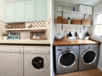 12 Inspiring Small Laundry Room Ideas - Love & Renovations