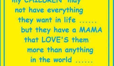My Children May Not Have Everything