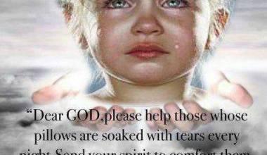 Send Your Spirit To Comfort Them