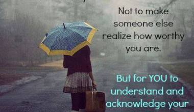 Sometime Your Need To Walk Away