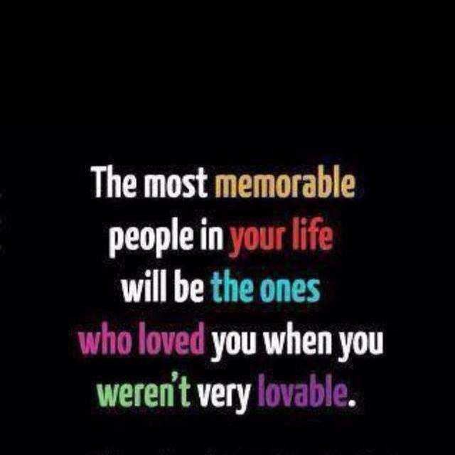 The Most Memorable People In You Life